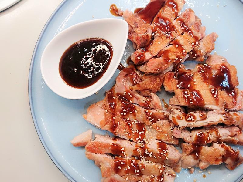 白飯殺手之燒肉醬雞腿排