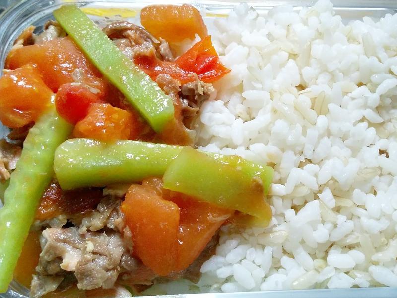 蕃茄青瓜三文魚