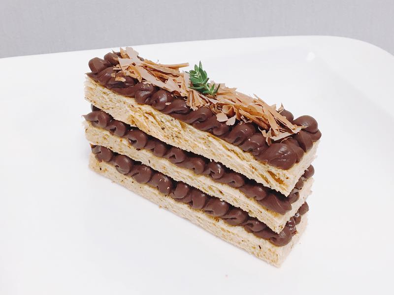 超簡單超市零食做成的巧克力蛋糕