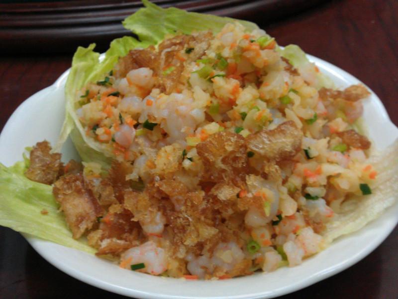 經典生菜蝦鬆