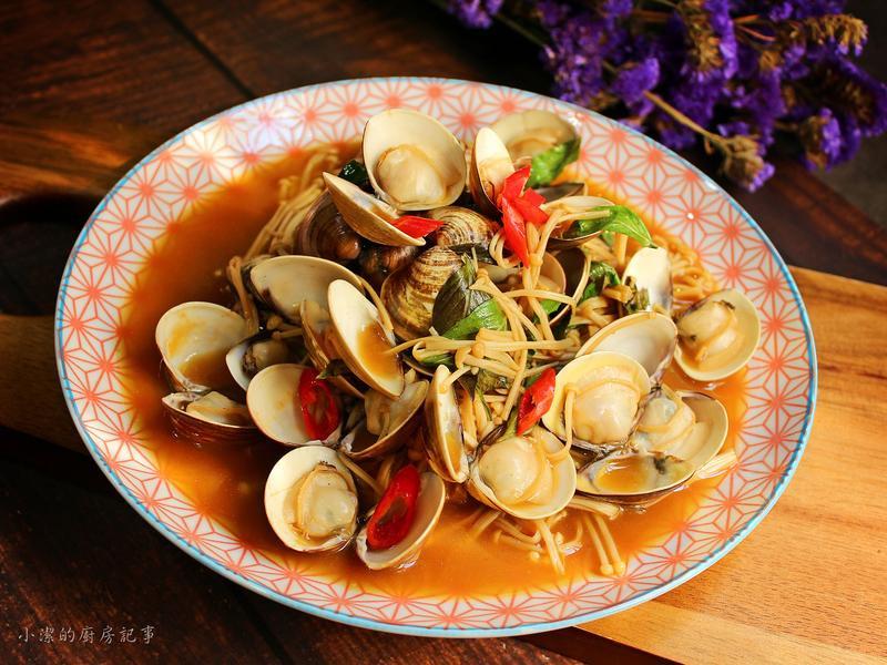 【珍好饌愛醬】蒜辣塔香蛤蜊