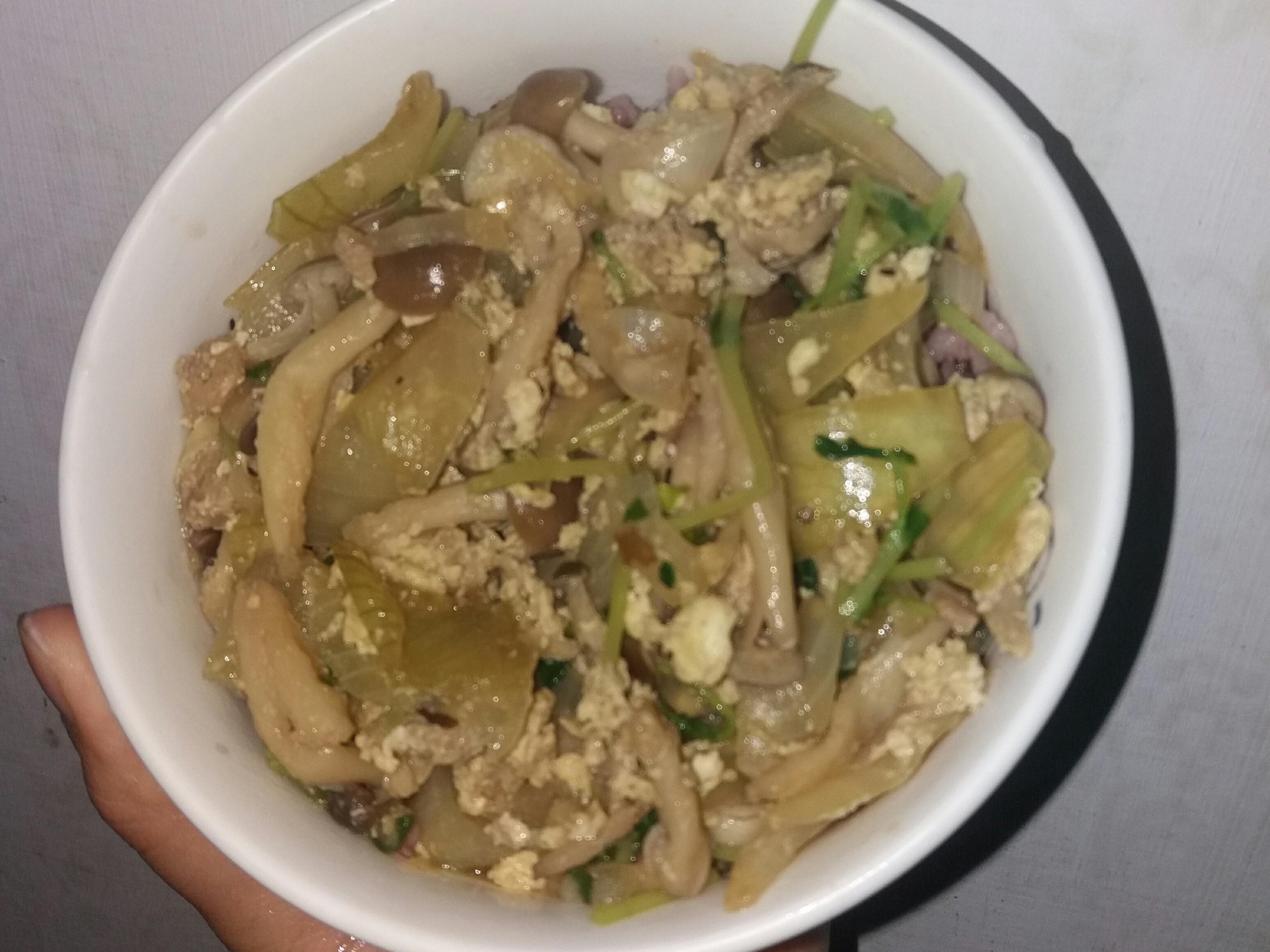 超營養菇菇日式丼飯