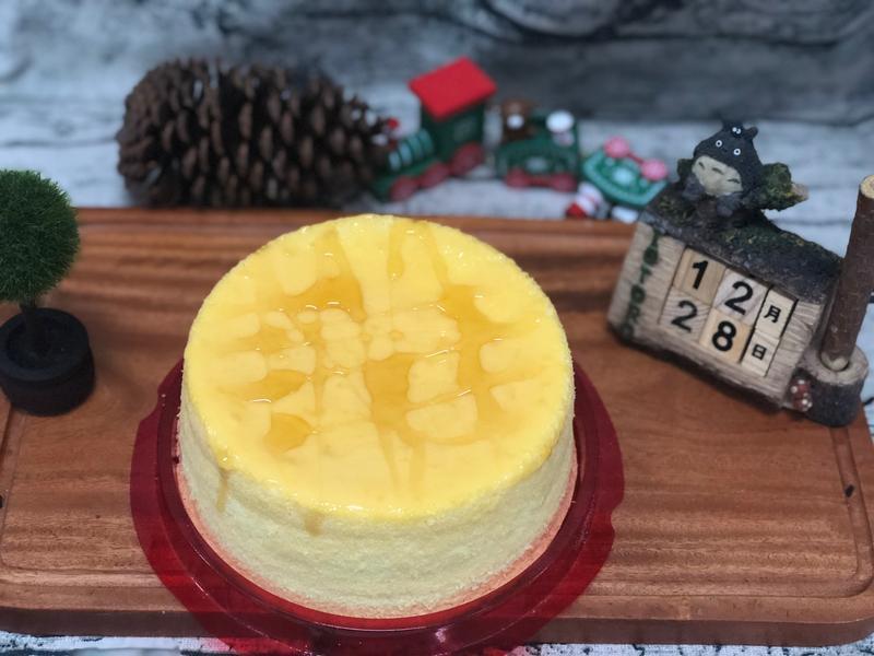 蜂蜜起司牛奶戚風蛋糕