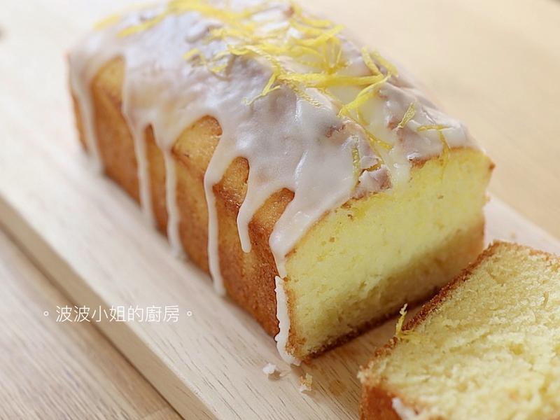 🍋檸檬糖霜蛋糕【附影片】