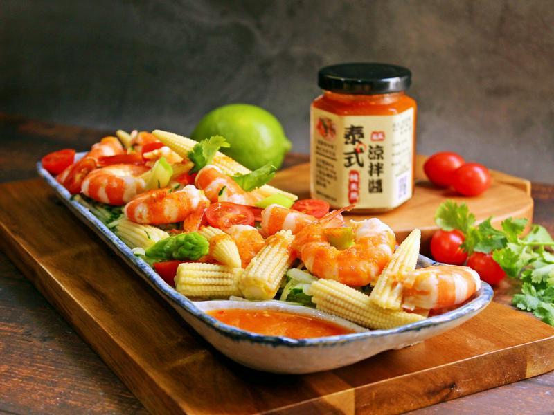 泰式涼拌蝦