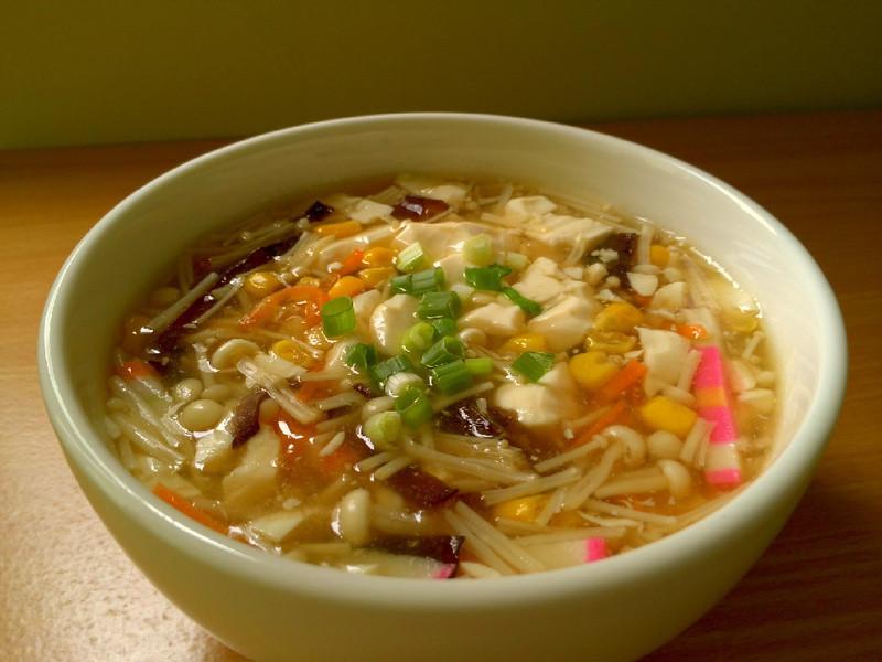 什錦豆腐羹