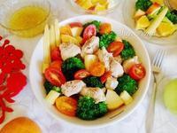 蔬果雞肉溫莎拉