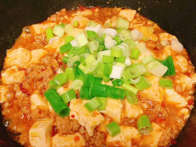 【一人份料理】快速不敗版麻婆豆腐