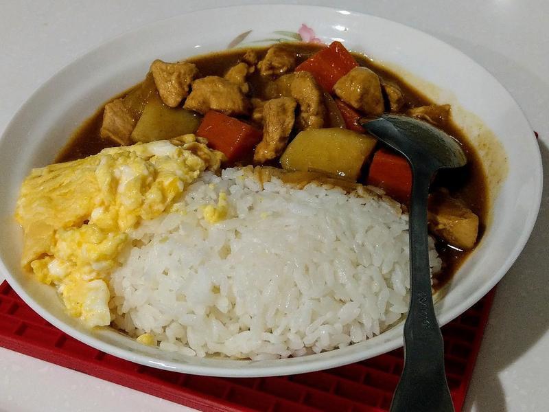 雞肉咖哩飯