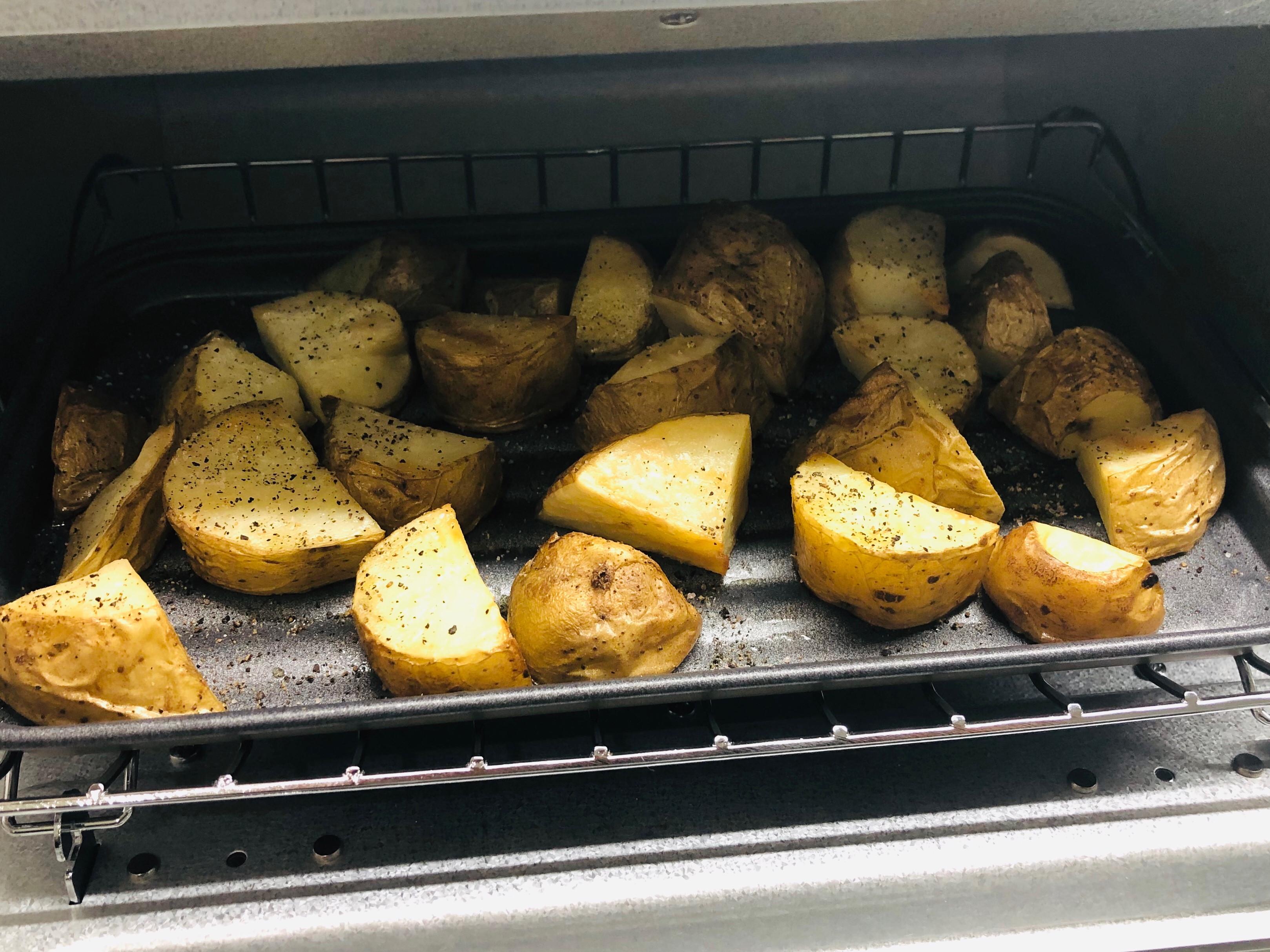 香噴噴鹽烤馬鈴薯