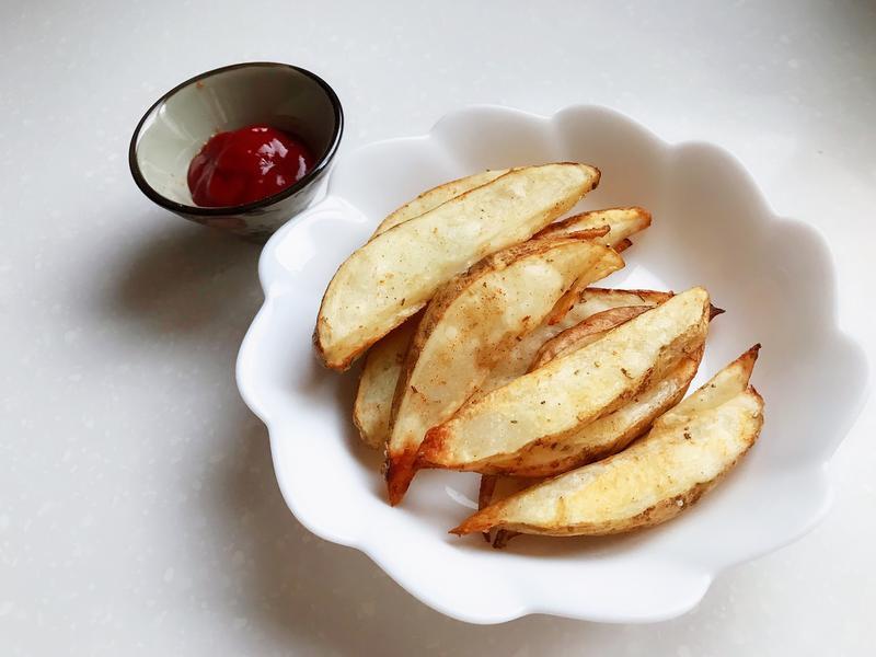 [焗箱料理]香辣脆薯角