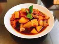 南瓜馬鈴薯燉肉(只要20分鐘)