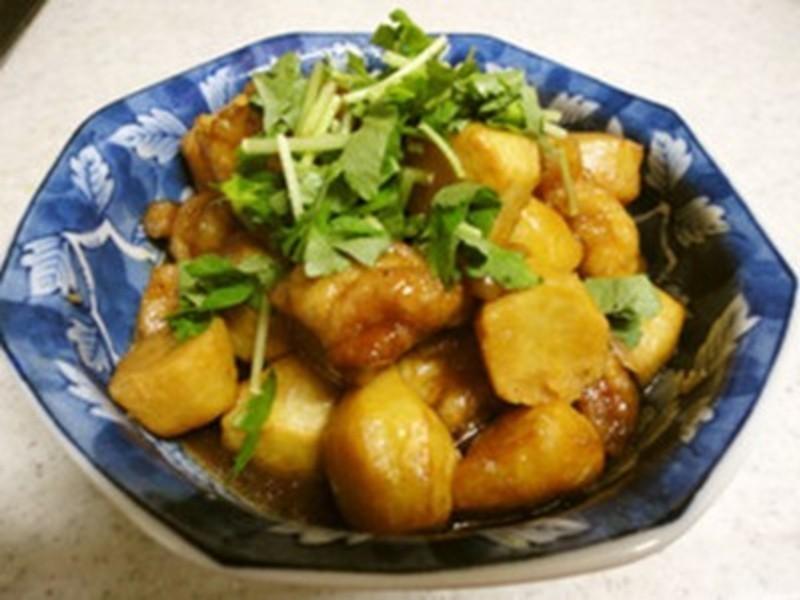 里芋燒雞【四季江戶味之秋季料理】