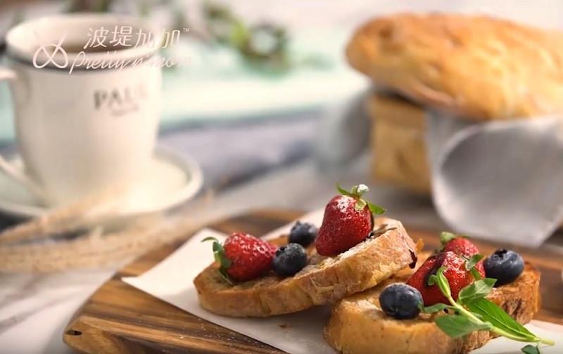 莓果舒芙蕾法式吐司