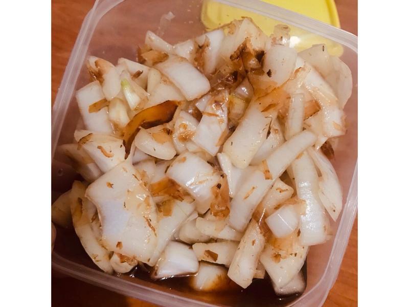 魚露涼拌洋蔥(´∀`)