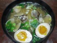 日式蛤蜊湯麵