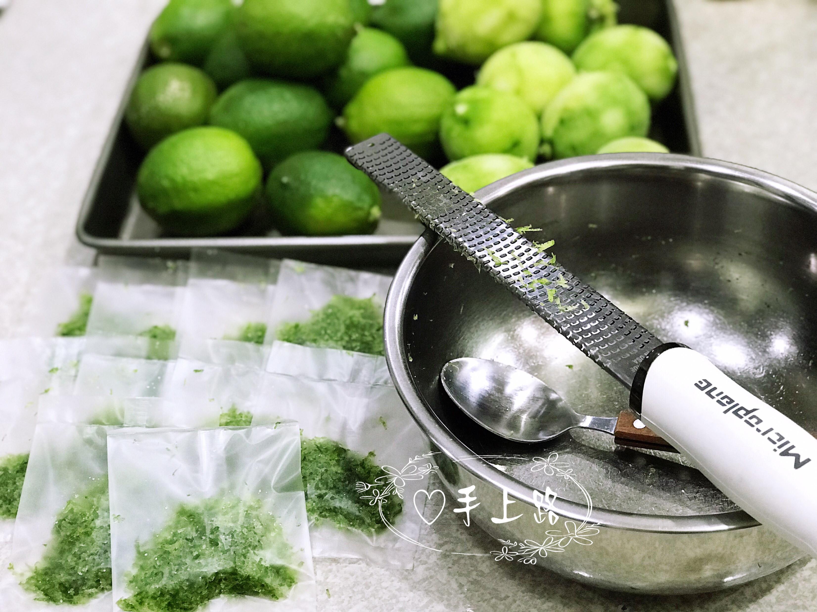 檸檬皮屑保存(保持鮮綠撇步)