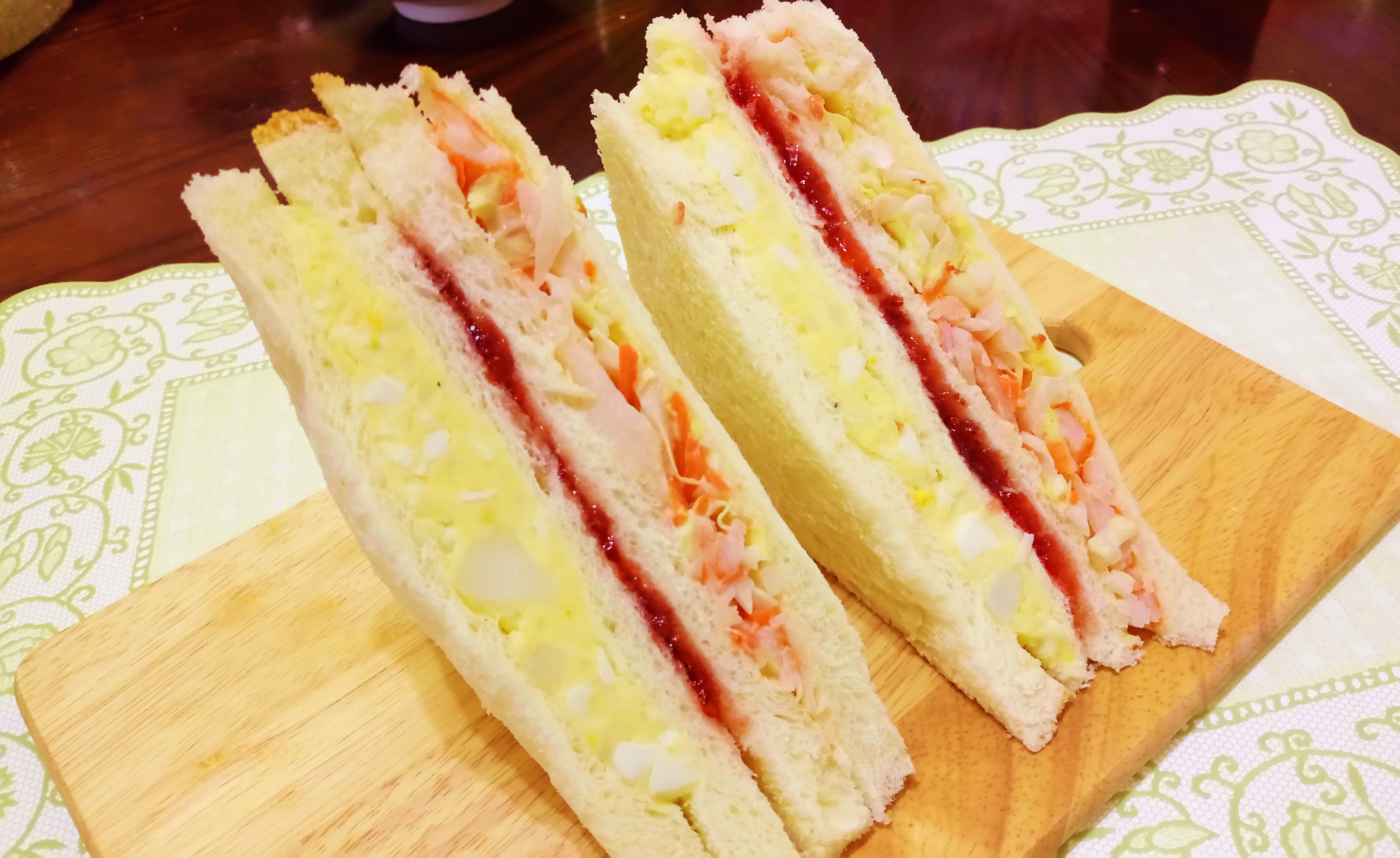 韓國超夯土司三明治