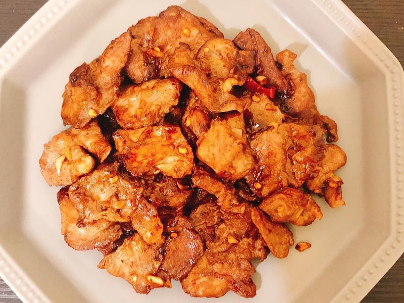 鹹香煎豬肉片