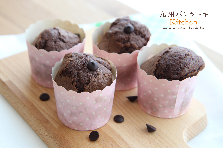 九州鬆餅巧克力杯子蛋糕