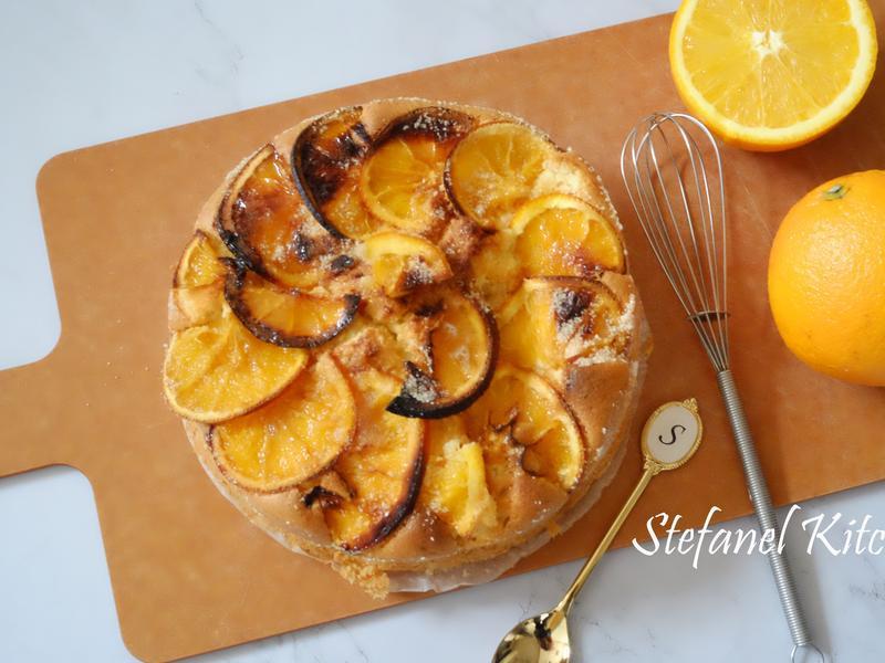 香橙乳酪蛋糕 ( (不含牛油及牛奶)