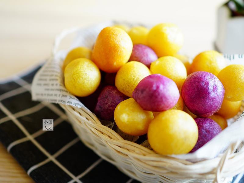 超好吃QQ地瓜球原來這麼簡單!