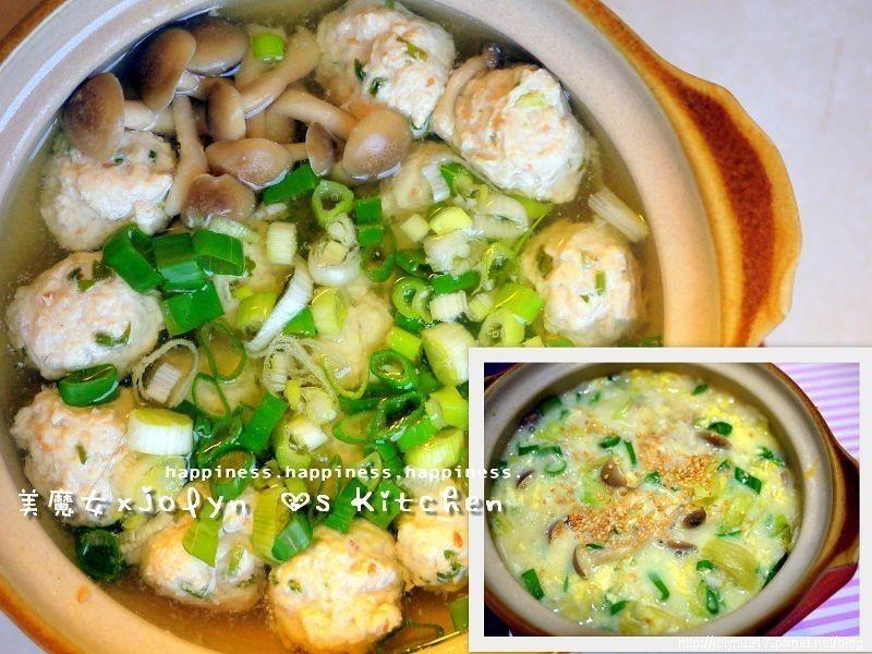 【四季江戶味之秋季料理】軍機鍋-雞肉丸子鍋+湯底粥