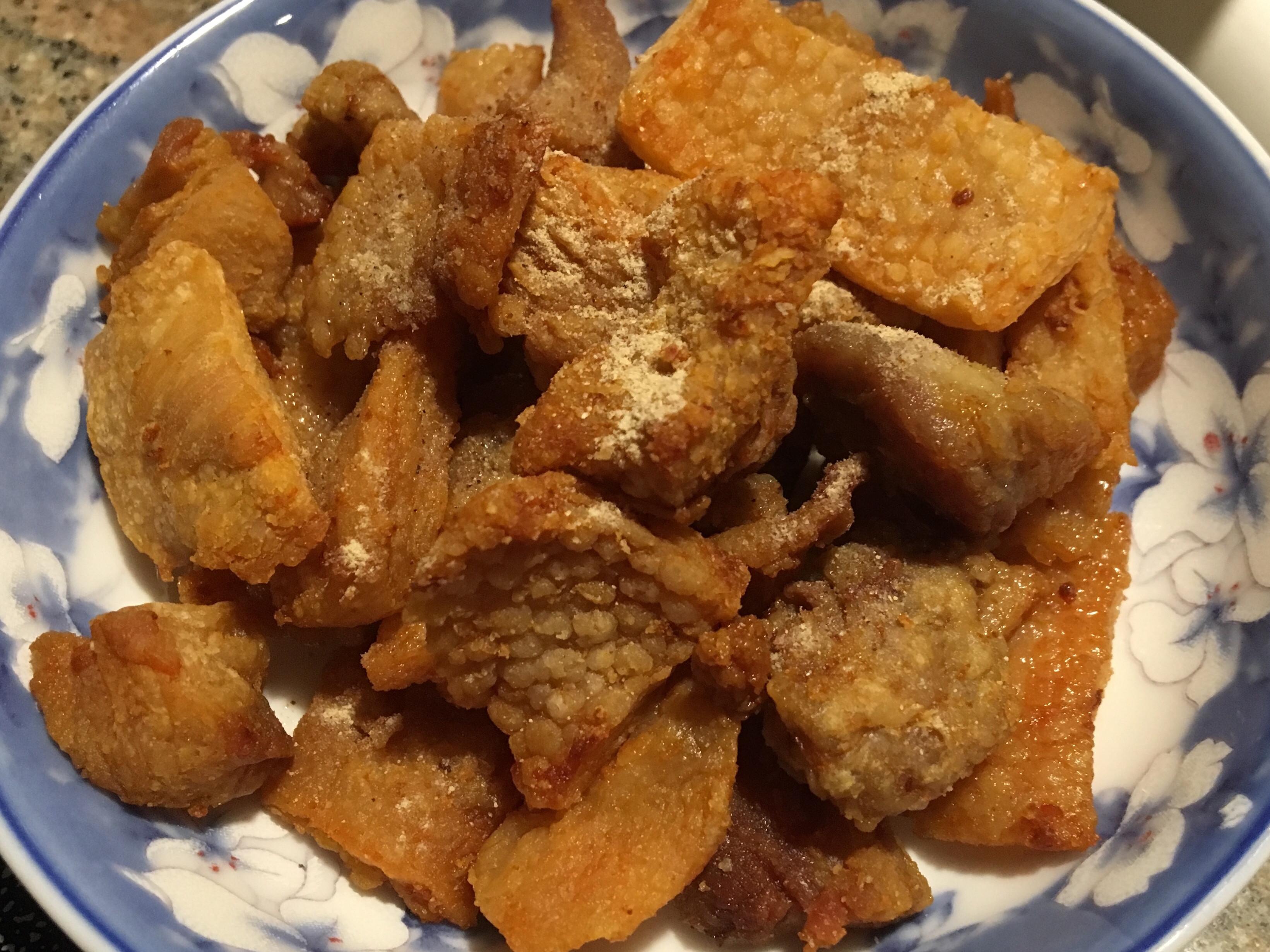 香酥豬油渣(古早味零嘴)