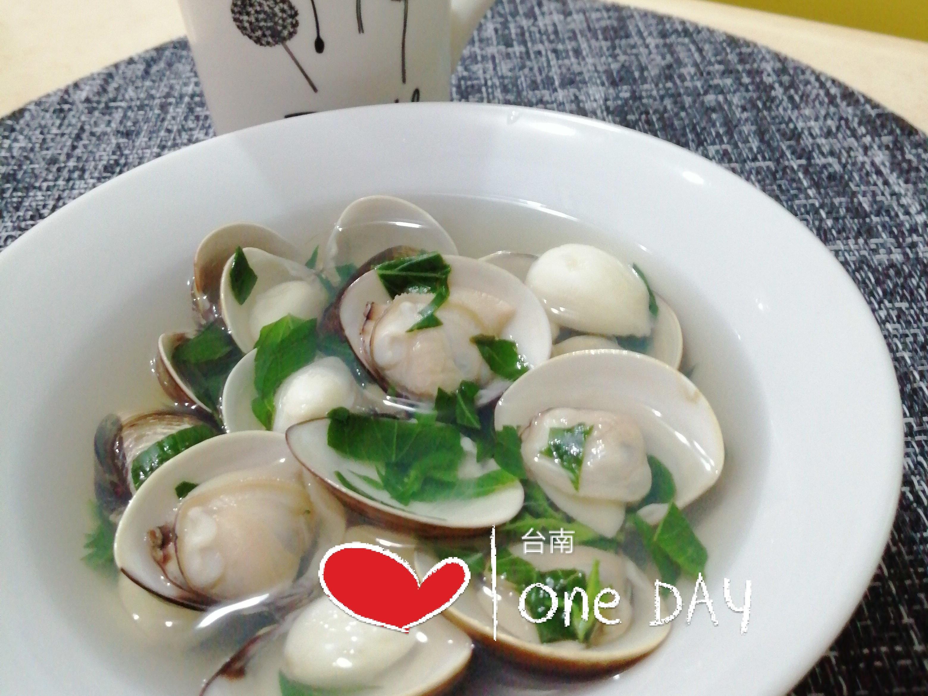 蒜頭蛤蜊湯