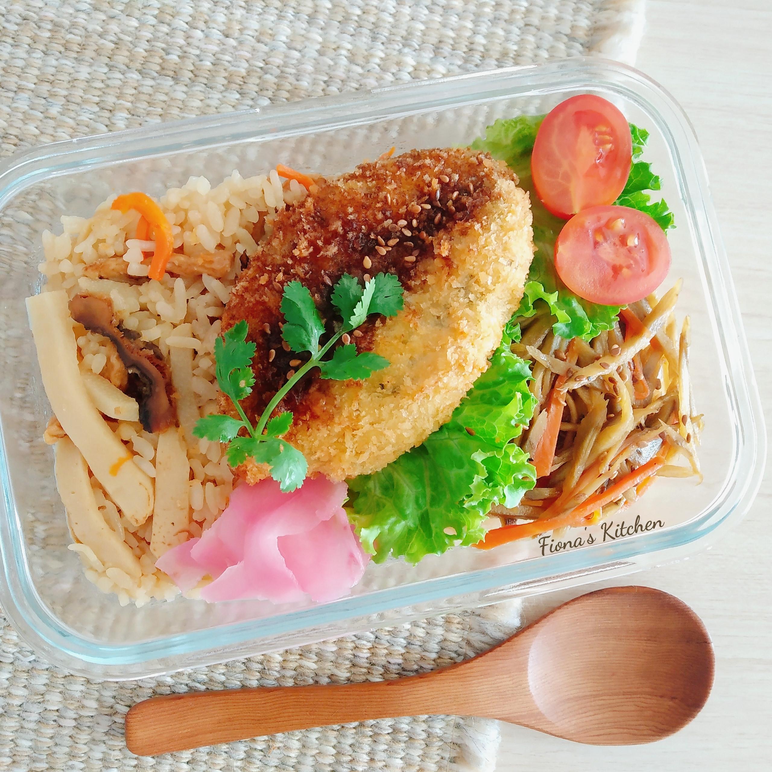 純素竹筍炊飯