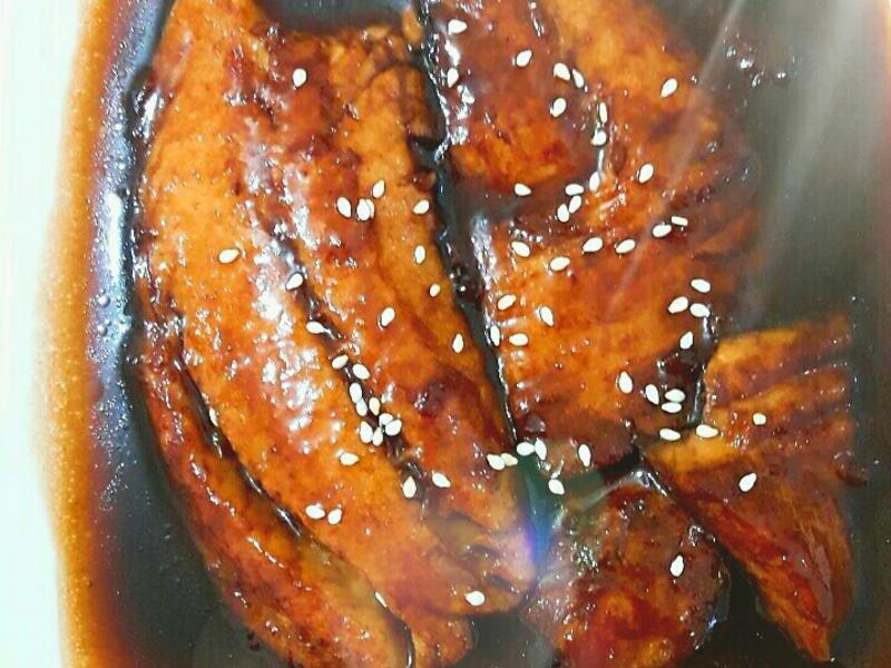 日式蒲燒鯛魚