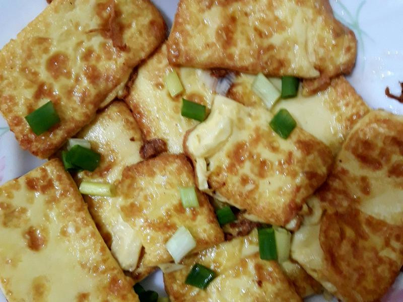 香煎雞蛋豆腐