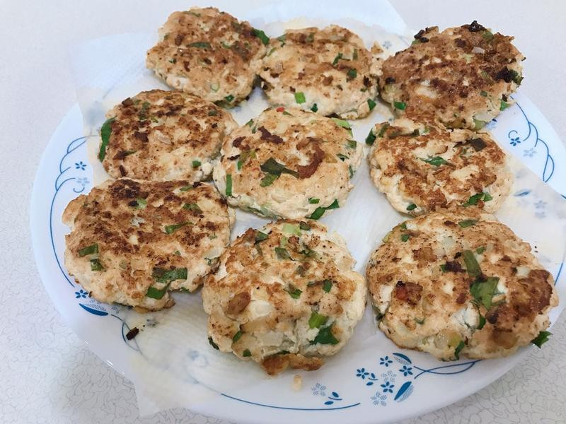 低卡 低脂 減肥料理-雞肉豆腐排
