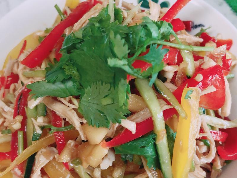 涼拌雞絲/生菜沙拉