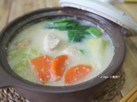 豆漿雞肉鍋(低脂低油)