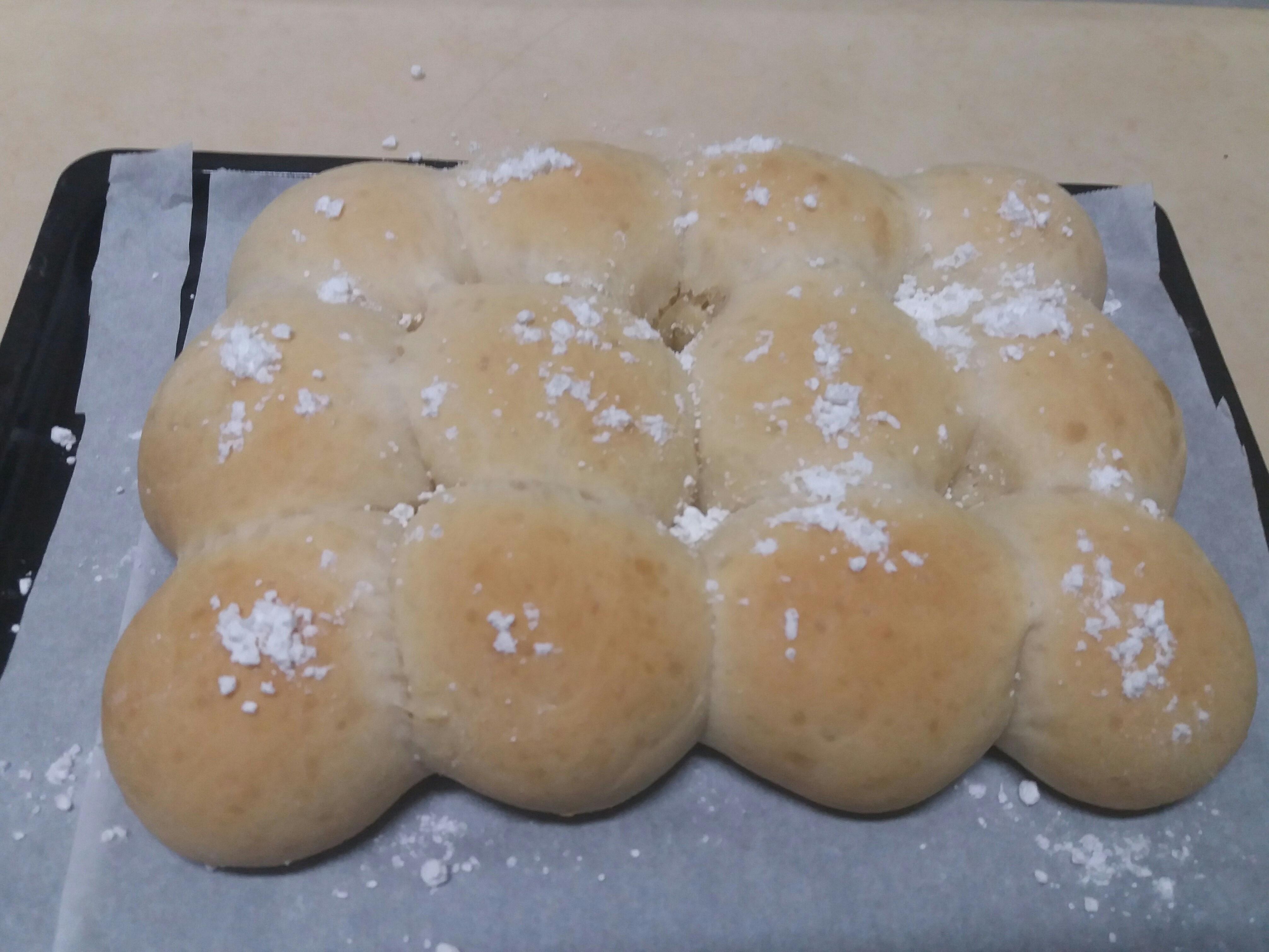 煉乳❤餐包by麵包機