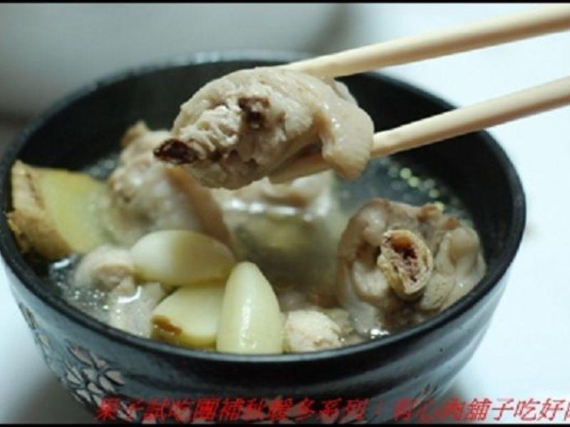 蒜頭雞翅湯