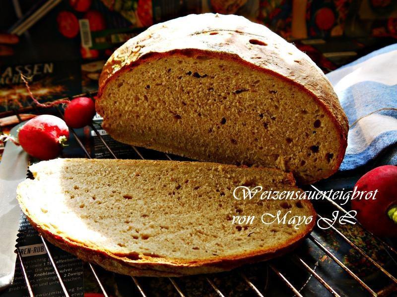 斯佩爾特小麥酸麵糰麵包