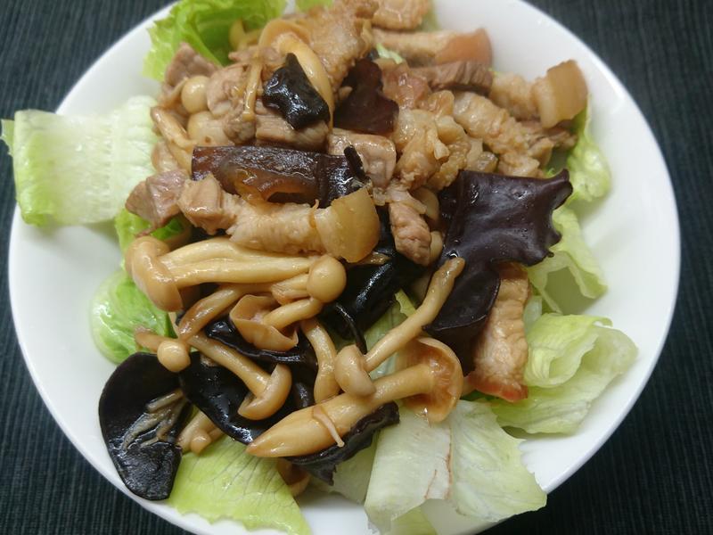 醬油五花菇菇 (生酮/低醣)