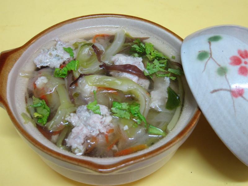 【四季江戶味之秋季料理】曇花肉羹湯