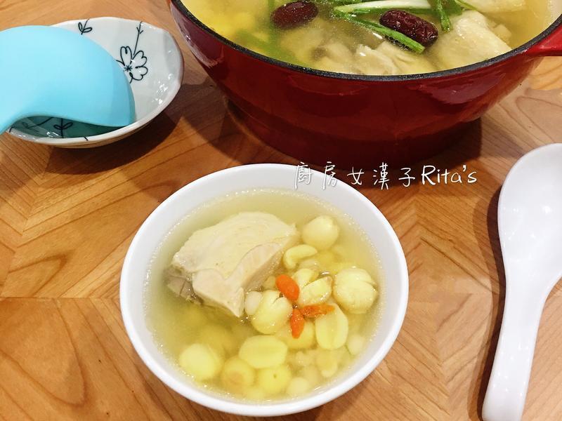 薏仁蓮子雞湯