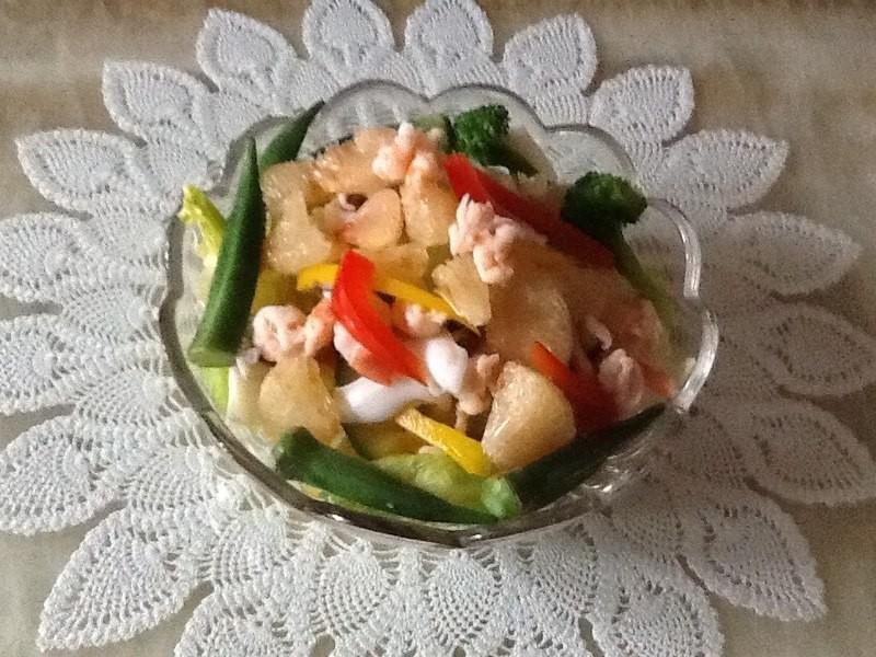 和風柚子海鮮沙拉