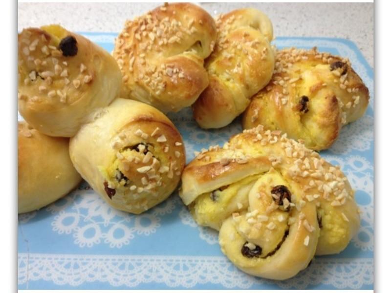 [Witi✿Kitchen](麵包機-麵包)葡萄奶酥麵包