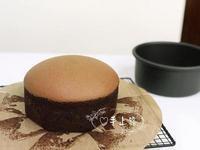 生巧克力棉花蛋糕(6吋 蒸烤法)