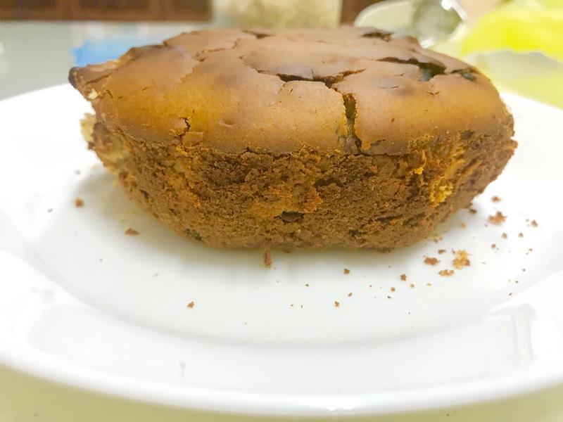 零技巧-萊姆葡萄冰淇淋製-巧克力豆蛋糕