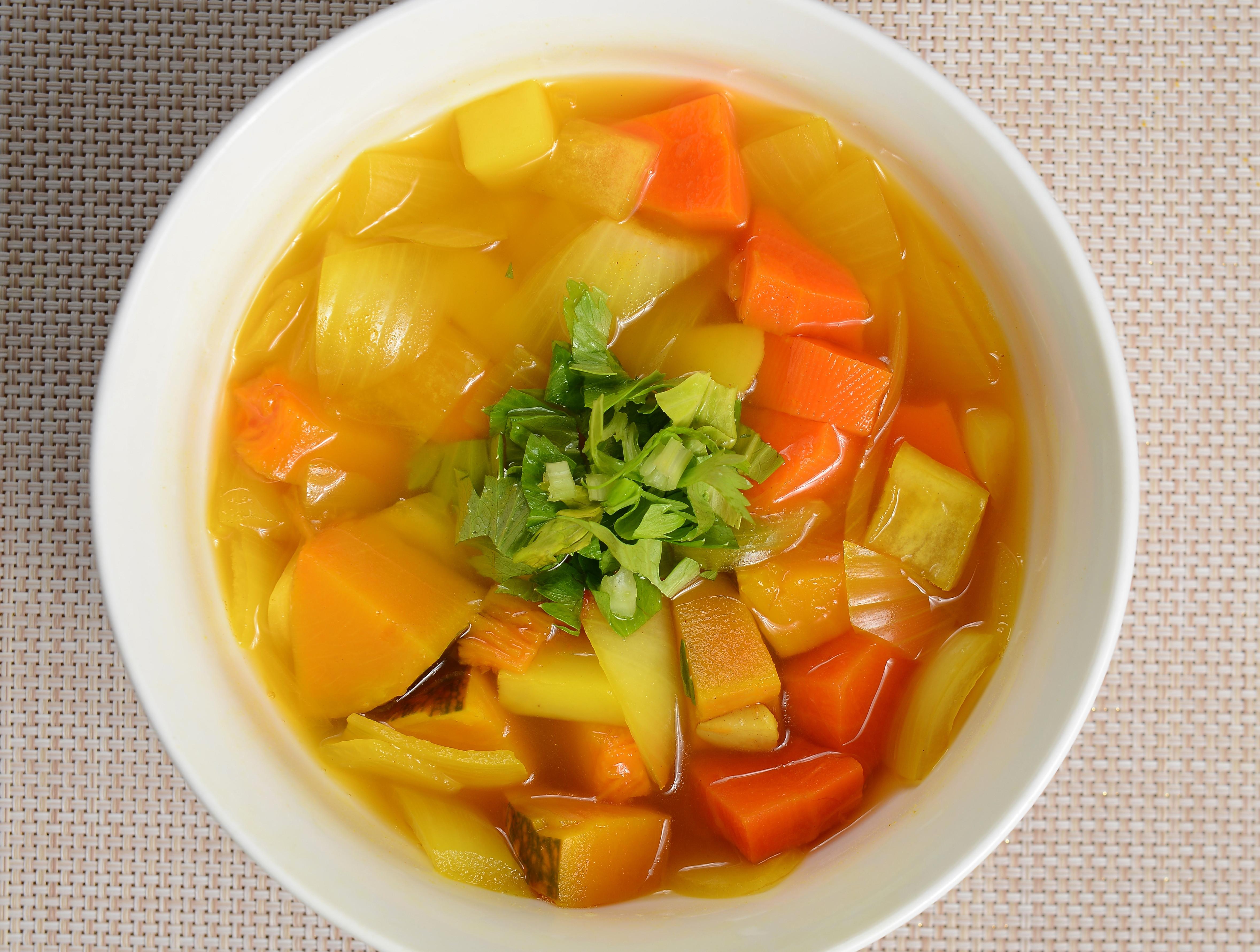 薑黃咖哩蔬菜湯