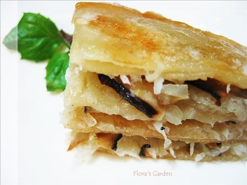 「四季江戶味–秋季料理」千層蘿蔔絲餅