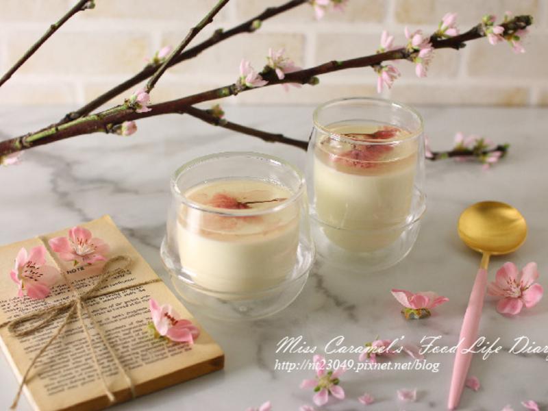 櫻花優格鮮奶酪