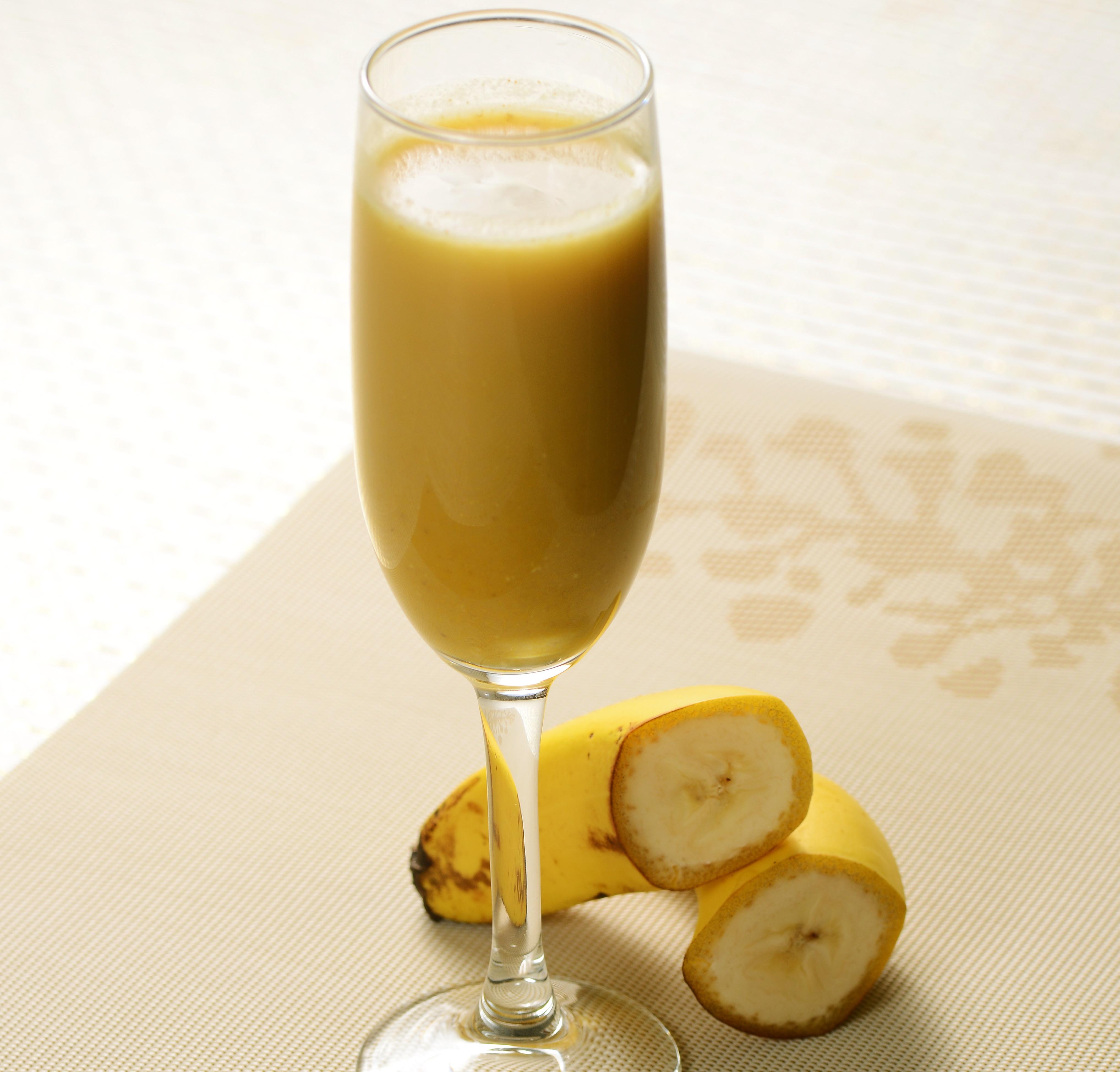 薑黃香蕉杏仁奶