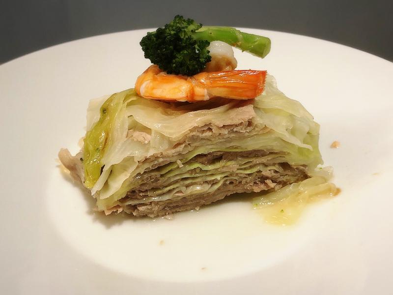 千層高麗菜豬肉片